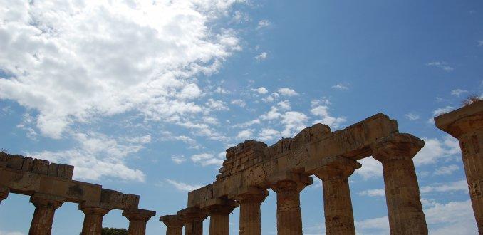 de Acropolis van Sicilie