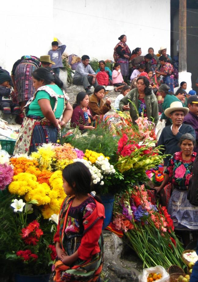 Lokale kleurrijke Markt