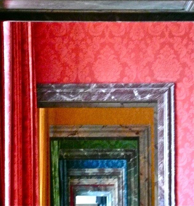 Doorkijkje kleurenkamers Versailles