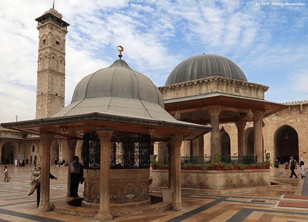 De Ummayad Moskee van Aleppo