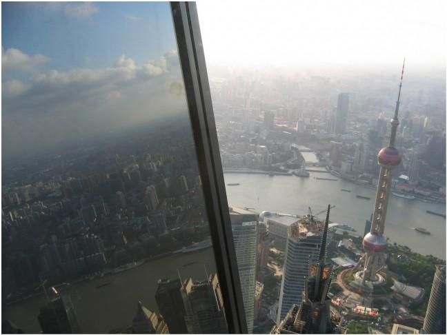 Uitzicht Flesopener, Pudong