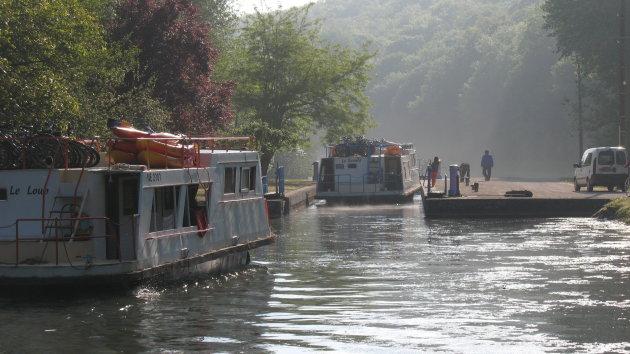 Fietsen langs de Yonne