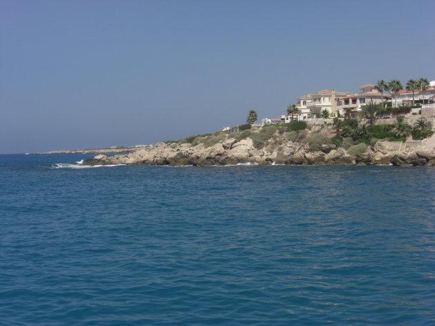 Kustlijn Cyprus