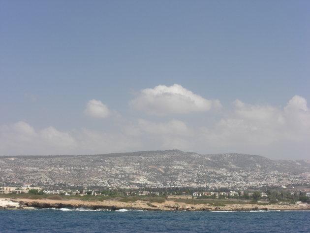 Kustlijn bij Paphos
