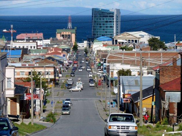 overzicht op Punta Arenas
