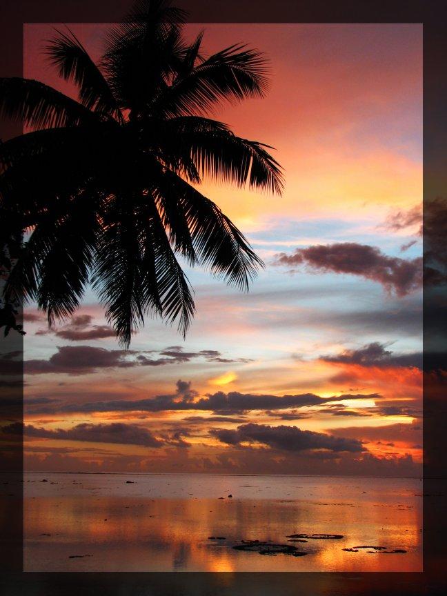 Sunset Frans Polynesie