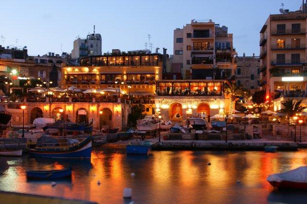 Sliema Harbour by Night