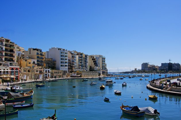 Sliema Harbour by Day