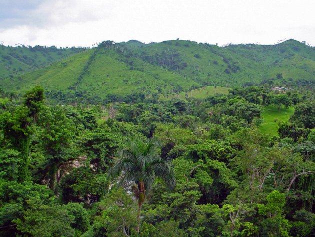 Het binnenland van de Dominicaanse Republiek