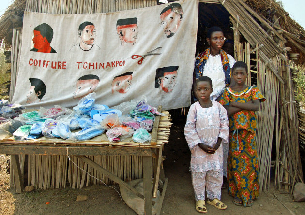 Kapper Tchinakpoi in Togo kapt het best