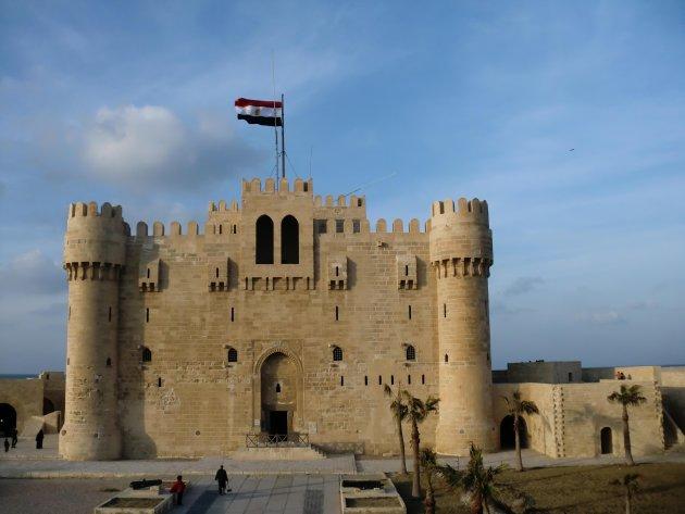 Qaitbey: stevige burcht in Alexandrie