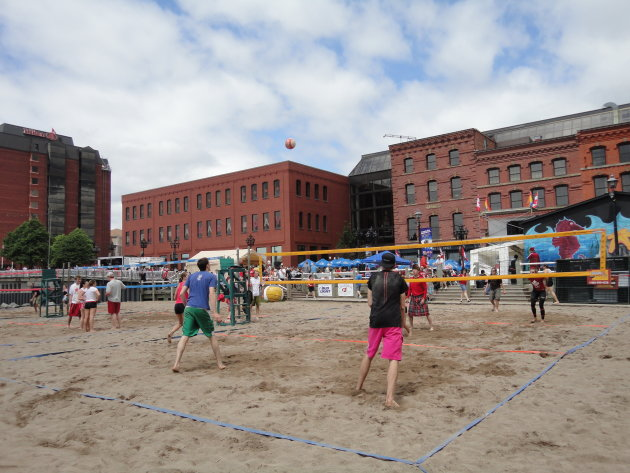 Canada Day Volleyball