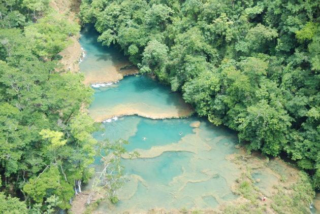 rivier in Semuc Champey