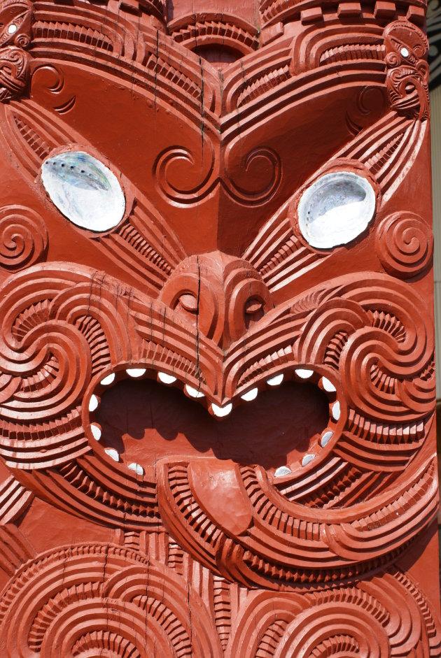 Maori houtsnijwerk