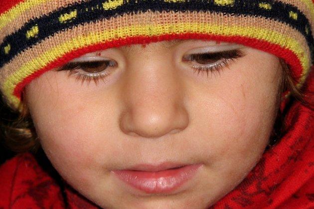 Eyelashes...