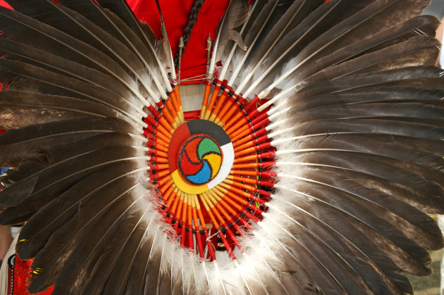 Shield of a Cree Indian