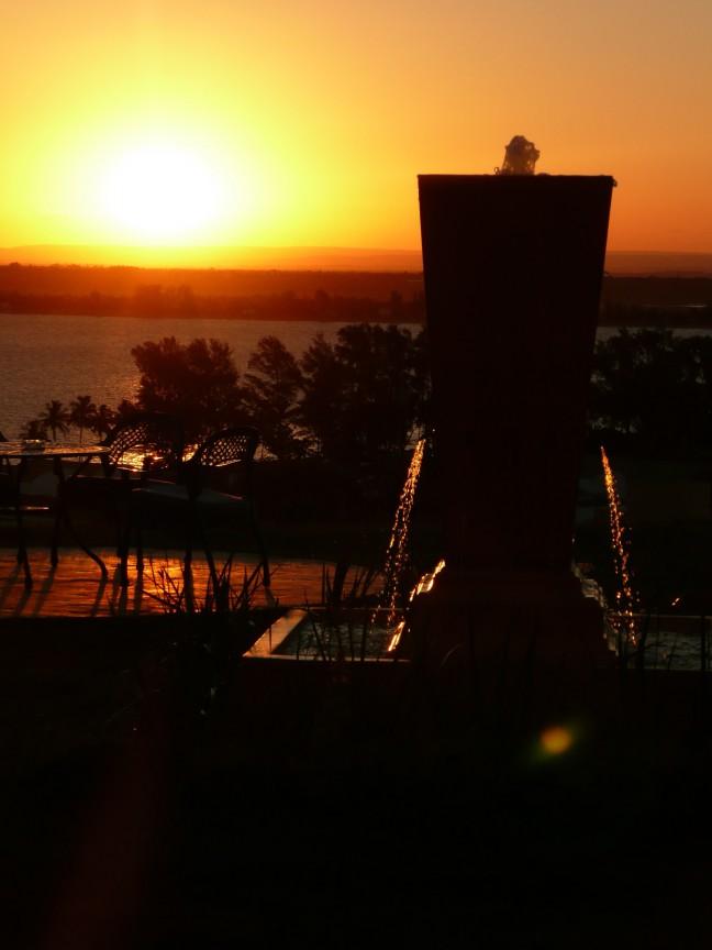 Zwoele avond in Maputo