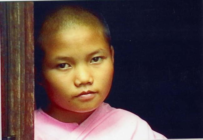 birmees gezicht