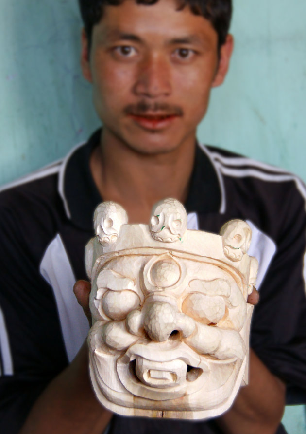 Tshechu masker