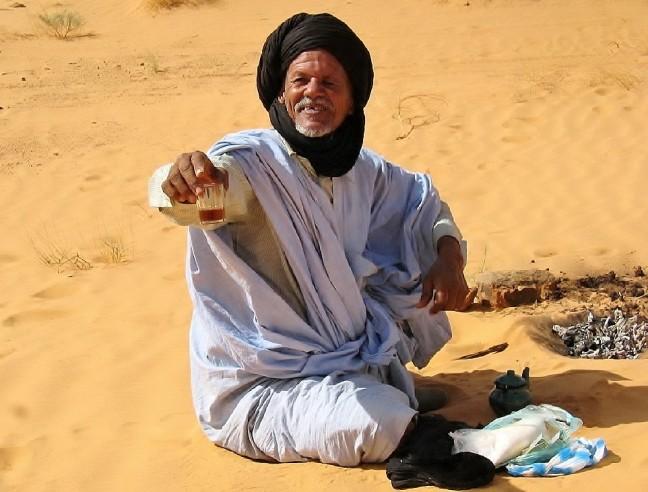 Een glaasje thee van Baba