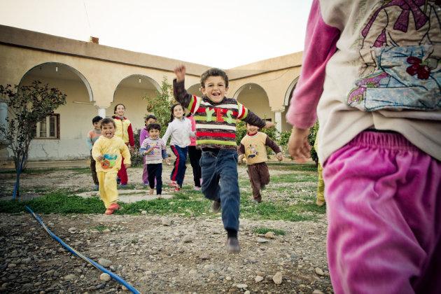 Kinderen in Syrië