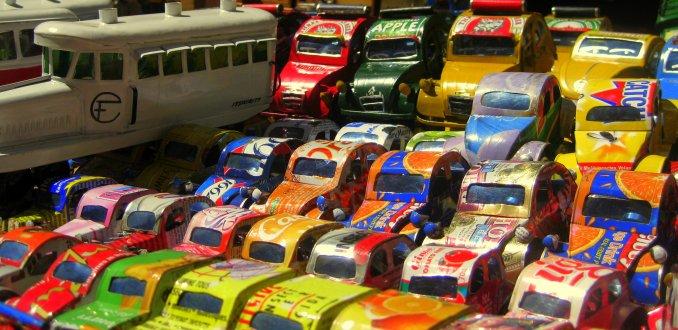 speelgoed uit afval