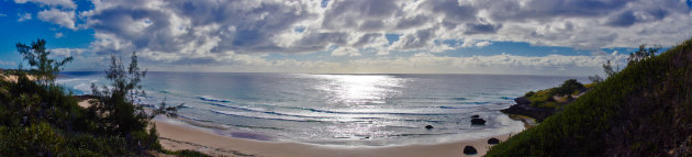 Panorama Tofo Beach