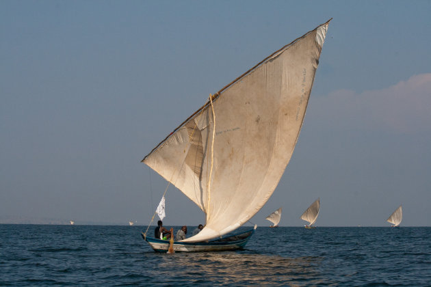 Traditionele vissersboot