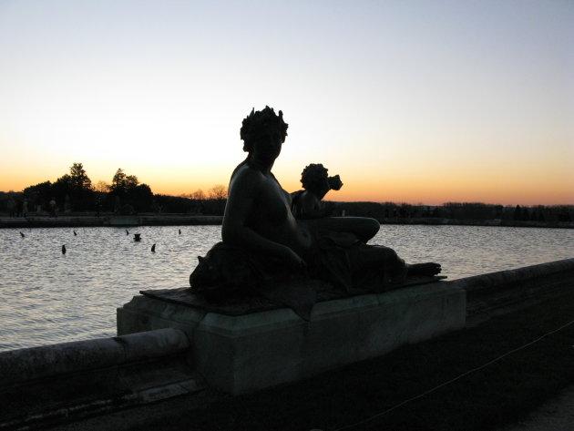 Vijver in de tuin van Versailles