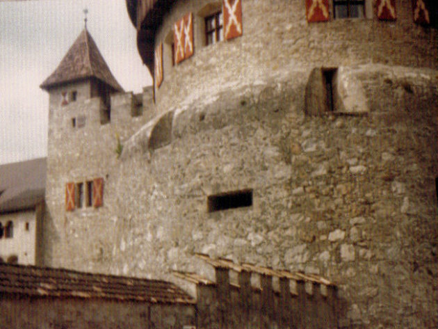 Kasteel in Vaduz