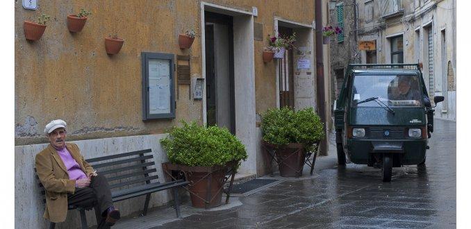 Wachten in Pitigliano