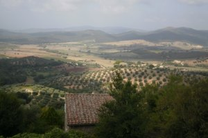 Toscaans plaatje