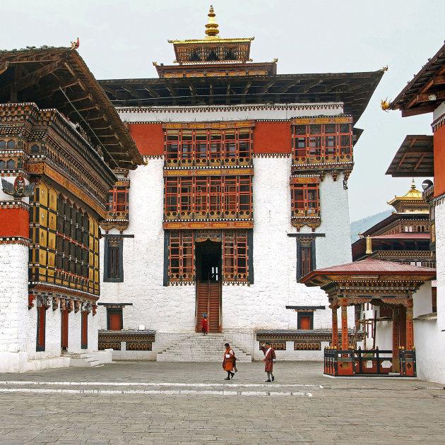 Tachicho dzong , glorieus fort