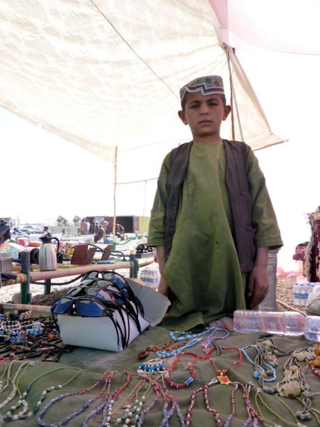 Jonge handelaar
