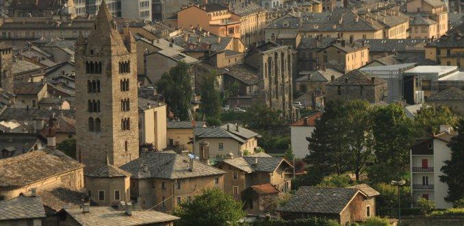 Aosta centrum