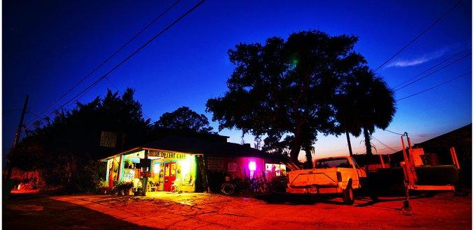 Blue desert Cafe, Cedar Key