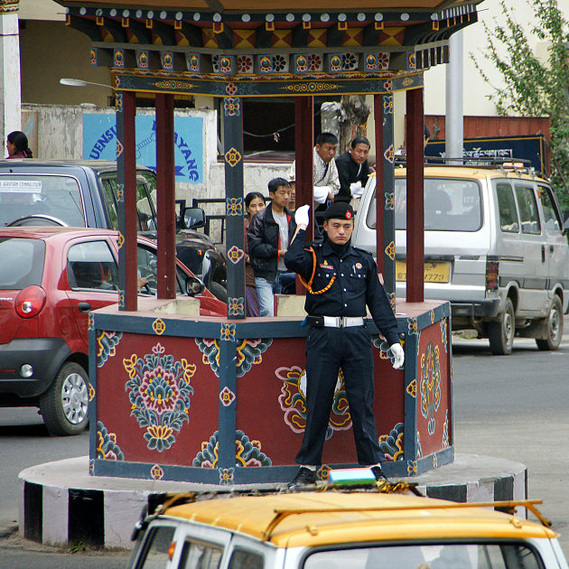 Traffic Jam in Thimpu