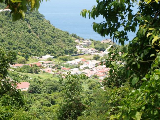 De hoofdstad van Saba, The Bottom