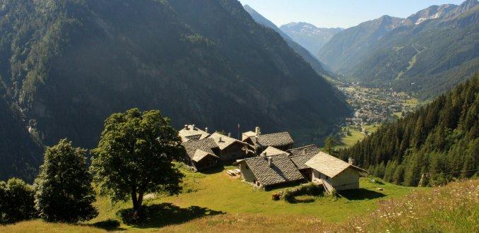 Berghut Alpenzu Gressoney