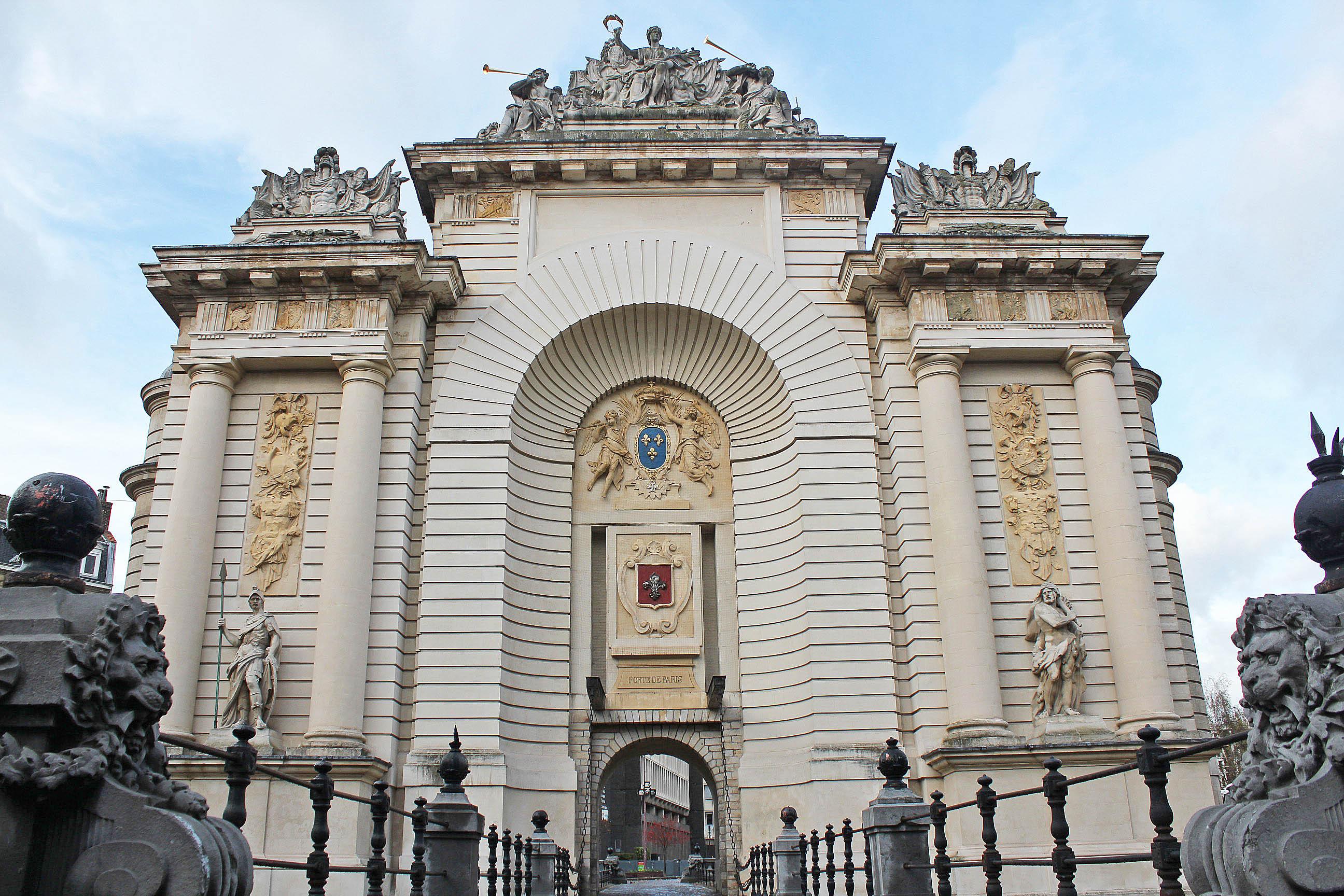 La Porte De Paris In Lille Columbus Travel