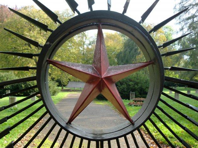 Rode ster in de voormalige DDR