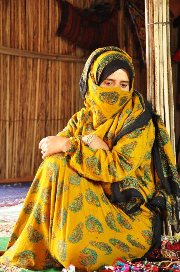 Berbervrouw uit Oman