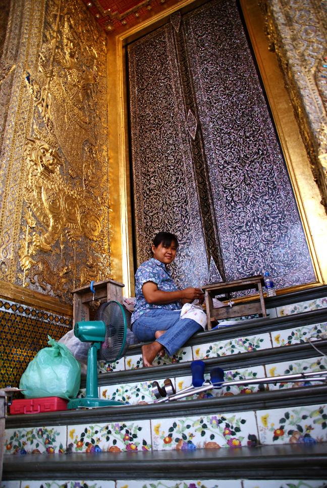 Priegelwerk bij de Grand Palace
