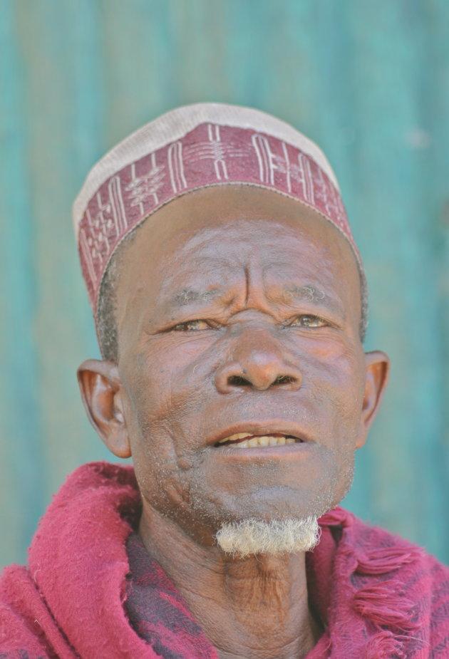 Peul man uit het noorden van Kameroen