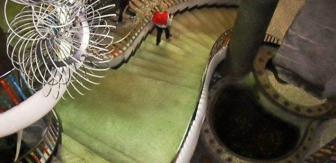 Vreemdsoortig trappenhuis City Museum