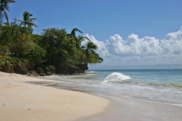 Paradijselijk eiland in de Golf van Samana