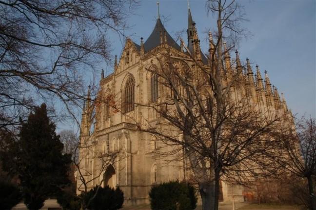 St. Barbarakerk in Kutná Hora