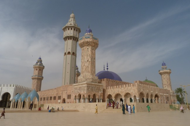 Moskee in Touba