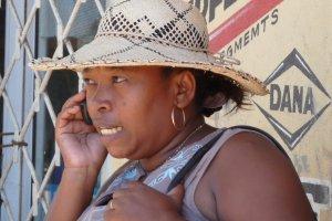 Ook in Madagaskar wordt druk geGSMd