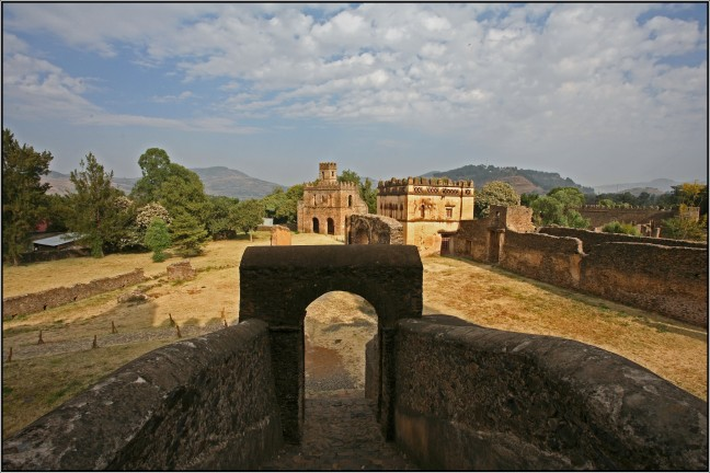 Gondar - kasteel